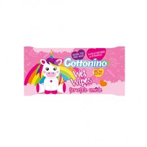 Cottonino Servetele umede Unicorn Pink